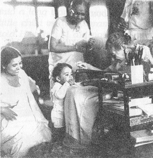 श्रीअरविंद आश्रम की श्रीमाँ का चित्र