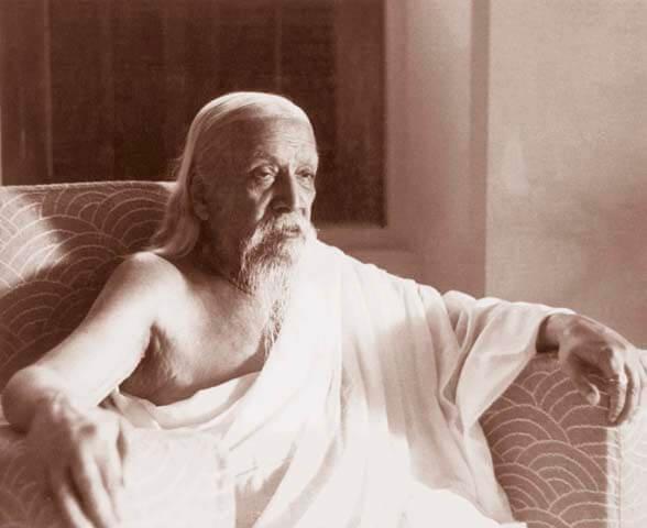 श्रीअरविंद का चित्र