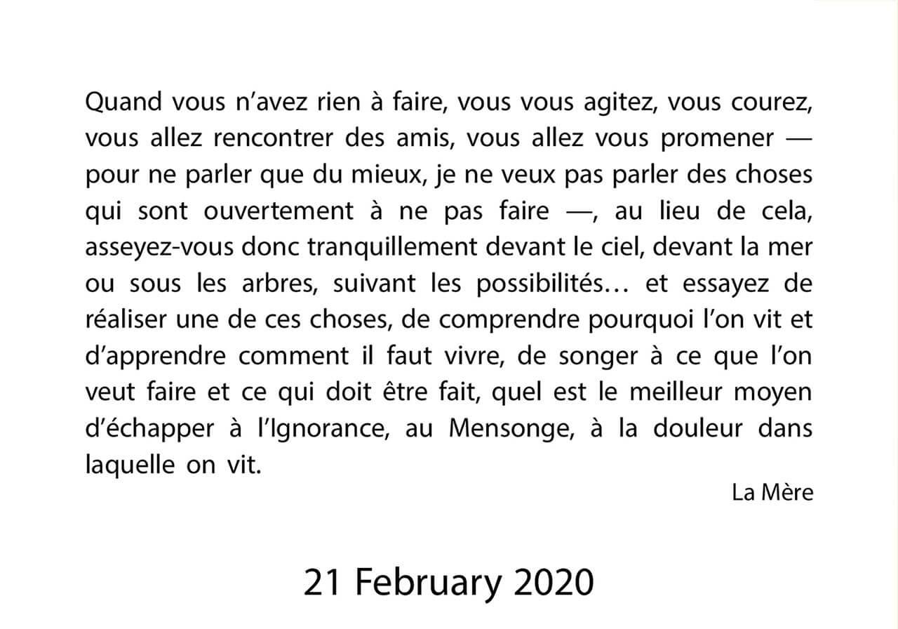 दर्शन सन्देश २१ फरवरी २०२० (३/३)